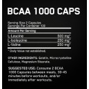Optimum Nutrition BCAA 1000 - 200 caps