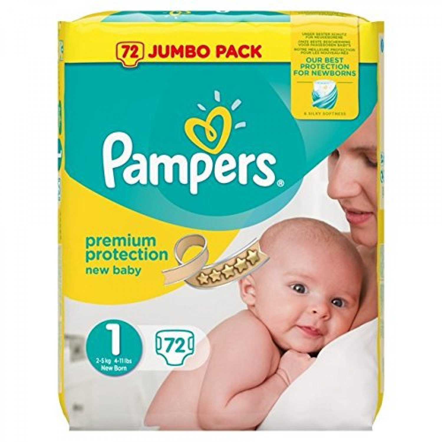 pampers razmer 1