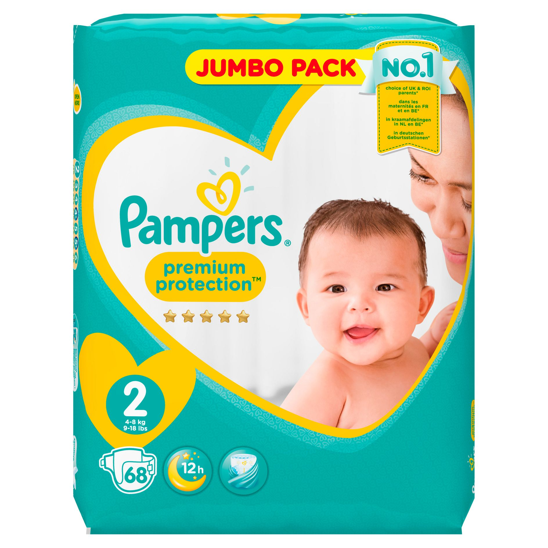 pampers razmer 2