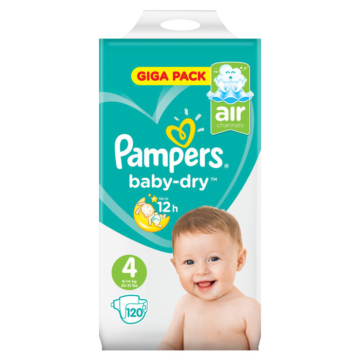 pampers 4 120 br